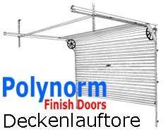 Polynorm Deckenlauftor