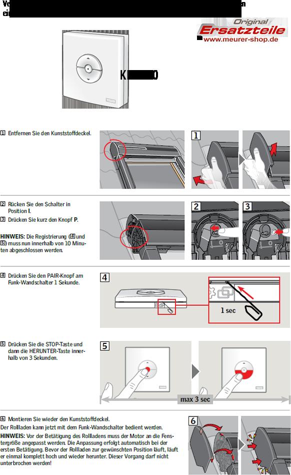 Bevorzugt Solar Rollladen Akku, Motor, Velux Ersatzteil-Kitt ab Bj. 2000-ZOZ LQ69