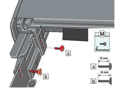 sicherung stift splint schrauben velux rollladen f815 v21. Black Bedroom Furniture Sets. Home Design Ideas