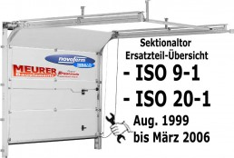 ISO 9-1  &  ISO 20-1 Bj. 08.1999 bis 03.2006