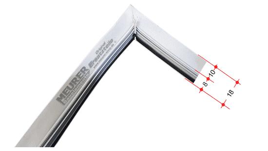 velux gleitdichtung umlaufend f r fensterfl gel 5810 flg. Black Bedroom Furniture Sets. Home Design Ideas