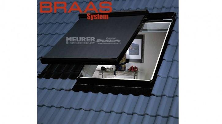 Netzmarkise für Braas und Delta-Atelier Dachfenster
