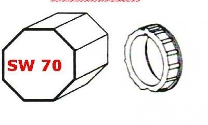 SW 70 Adapter für Rohrmotor LT 60