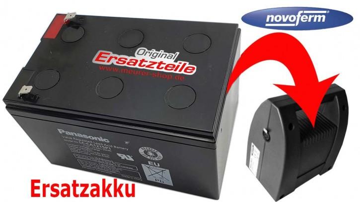 Ersatz Akku Novoferm NovoMatic 413 + 423