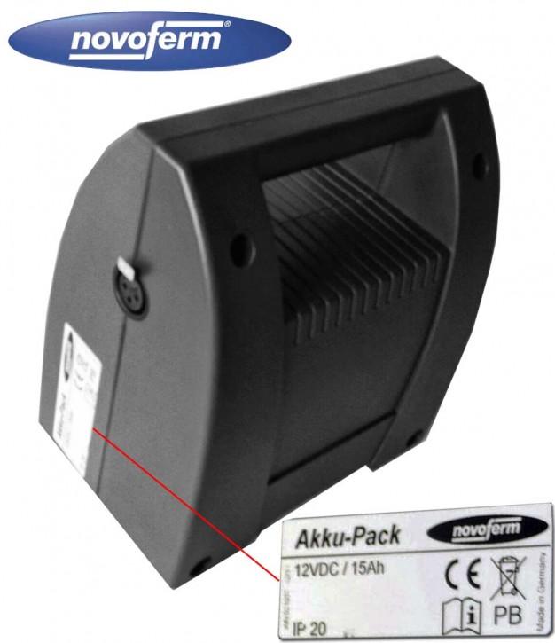 Akku Pack Ersatz, Austausch Accu für Novoferm NovoMatic 413
