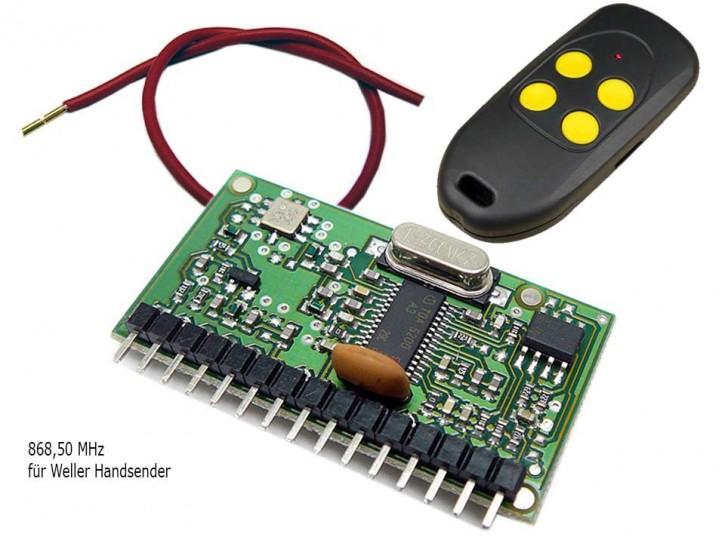 Funkmodul Dickert 868,5 MHz Keelog