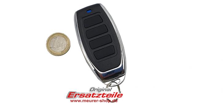 4-Kanal Universal Handsender 433,92 MHz KeeLoq kompatibel Novoferm und Siebau