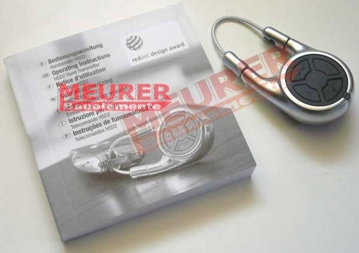 Hörmann HSD2-A Handsender Alu-Look 868,3 MHz