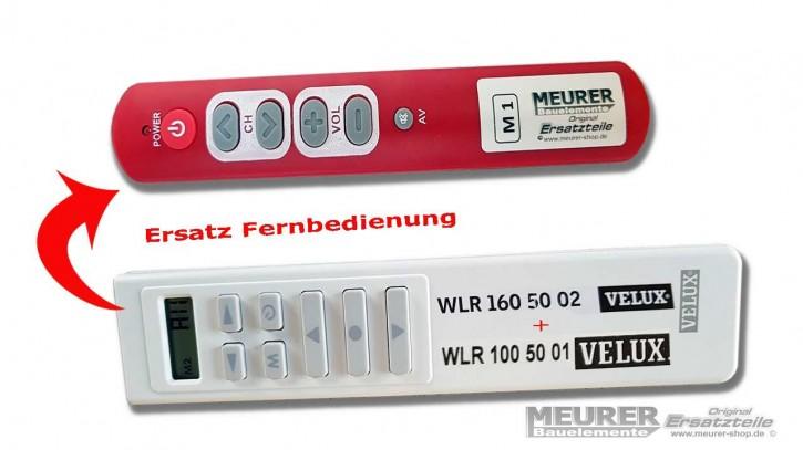 Velux Ersatz Infrarot Handsender / Fernbedienung 1-Kanal