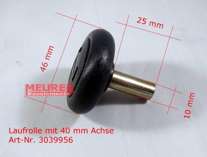 Laufrolle 40 mm Achse | Hörmann