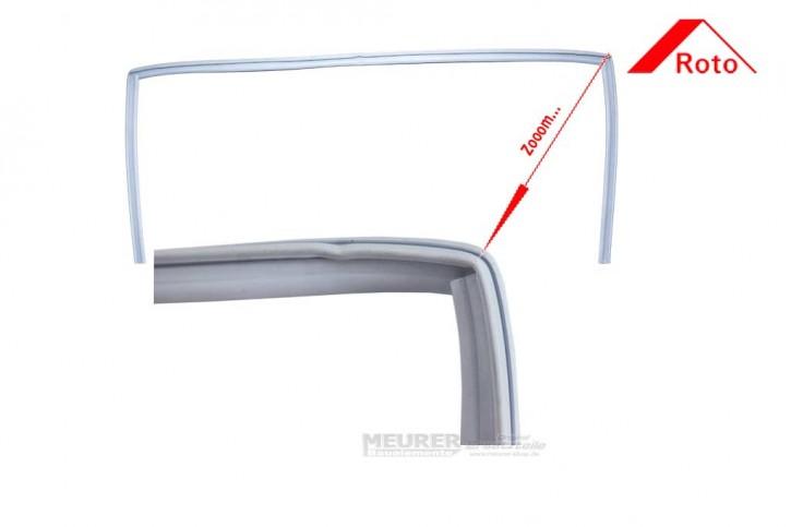 Lippendichtung, Blendrahmen Roto Kunststoff Dachfenster Baureihe 735