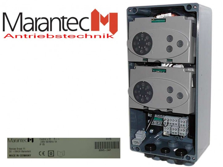 Marantec Steuerung Control x.51 2 DT-Flügel