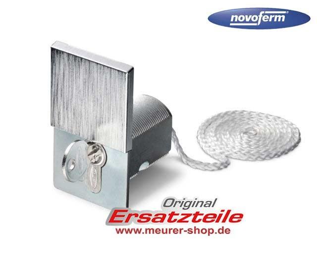 Notentriegelung Novoferm Extra 315 mit austauschbaren Halbzylinder