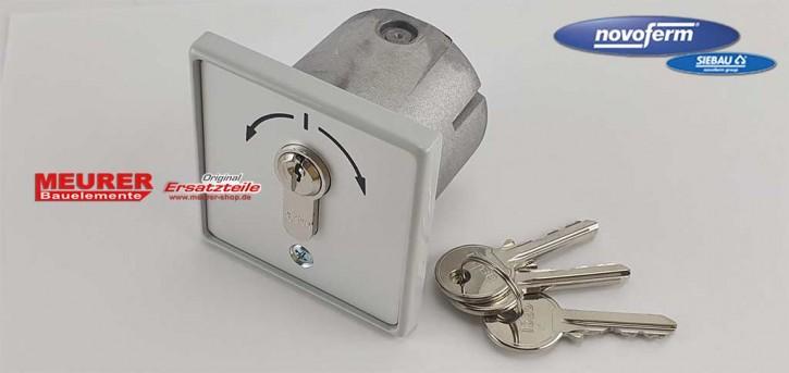 Schlüsseltaster 2-fach Signal 313 Unterputz