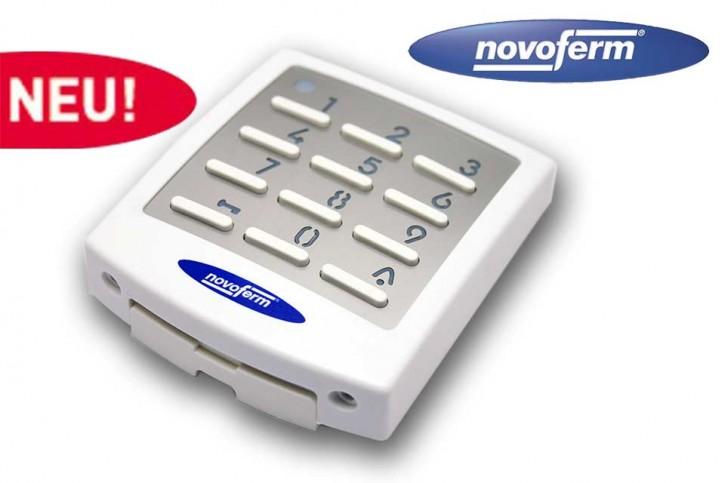 10-Kanal Funk Codetaster Weiß Novoferm Signal 218