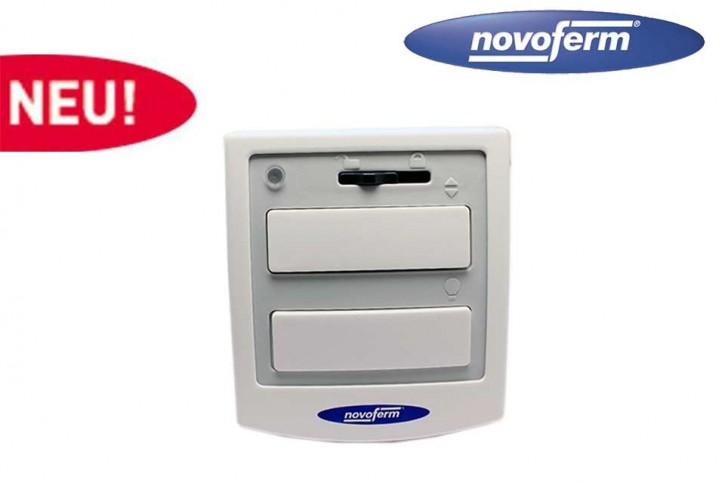 2-Kanal Innentaster Weiß Signal 112 mit Lichtfunktion Novoferm