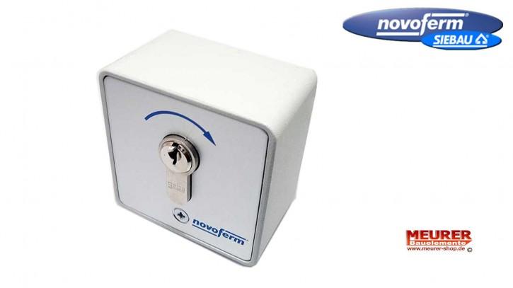 Schlüsseltaster 1-fach Signal 412 Aufputz Novoferm