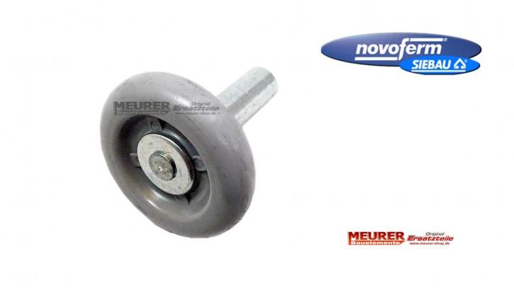 Laufrolle Rund, kurzer Achse | Novoferm / Siebau