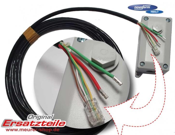 Verlängerung Set Kabel + Anschluss Klemmdose Novoferm NovoPort IV 4