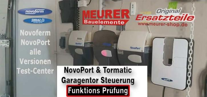 Funktionsprüfung zum Festpreis! für Novoferm & Tormatic NovoPort Steuerung