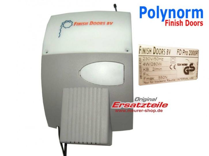Polynorm Finish Doors BV Antrieb FD Pro 2000R