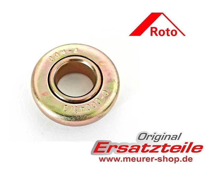 Roto ZRO RT2 Rollladen Rillenkugellager für Wickelwelle