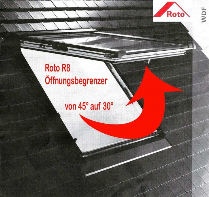Öffnungsbegrenzer 30° Grad Roto Typ R8...