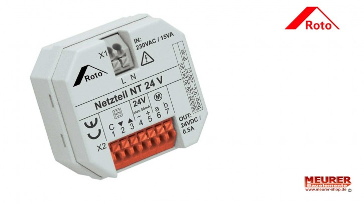 Roto Netzteil 24 V 0,5 A