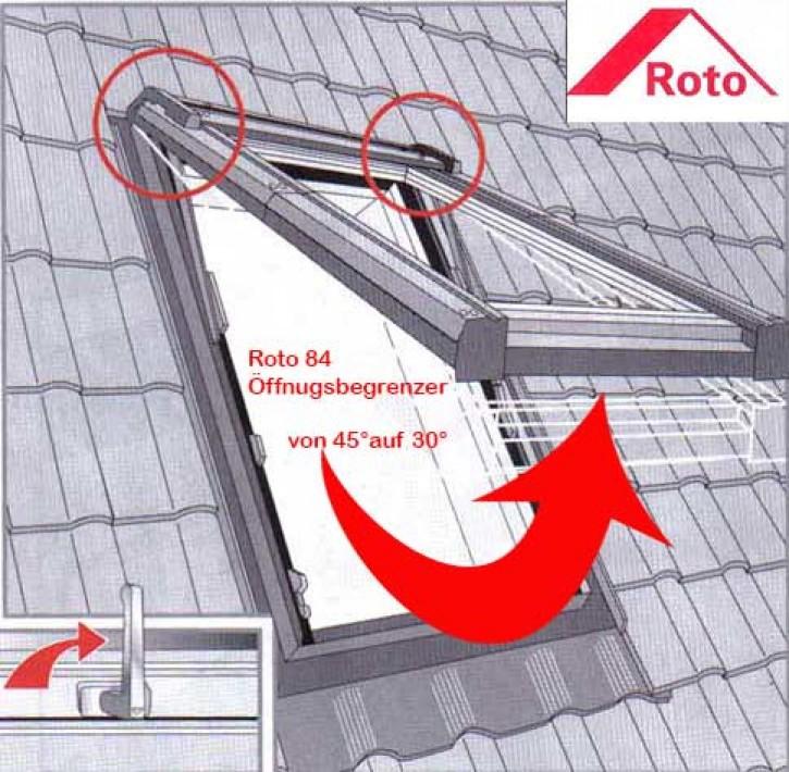 Öffnungsbegrenzer 30° Grad Roto Typ 84...
