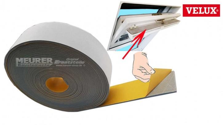 Schaumdichtung selbstklebend f. Velux Kunststoff Dachfenster