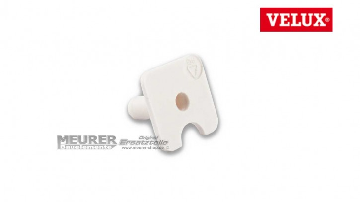Plastikclip, Buchse für Schraube Velux Abdeckblech