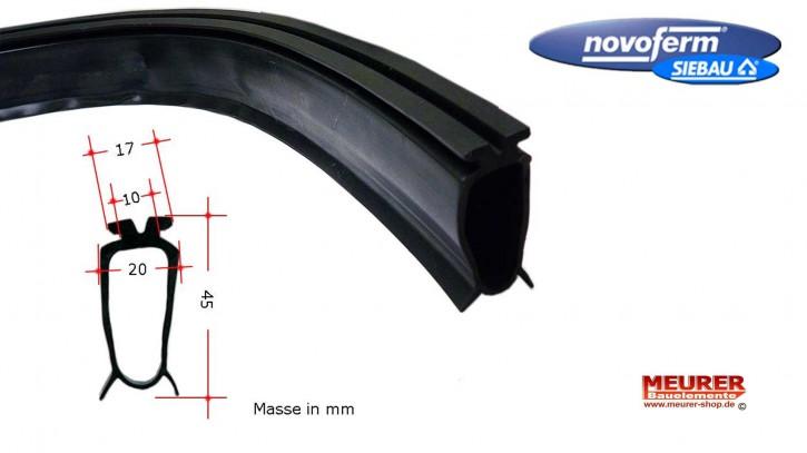 Bodendichtung Novoferm/Siebau Sektionaltor, je laufender Meter ISO GST