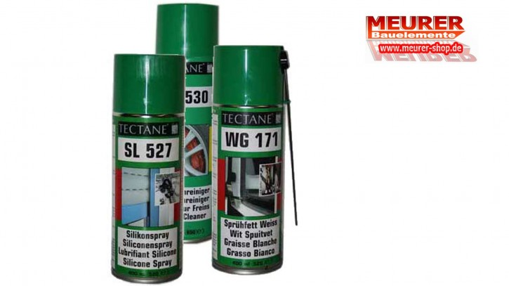 Fettspray + Silkonsray + Bremsenreiniger