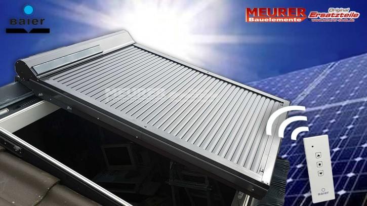 Solar Außenrollladen für BRAAS- /DELTA Dachfenster
