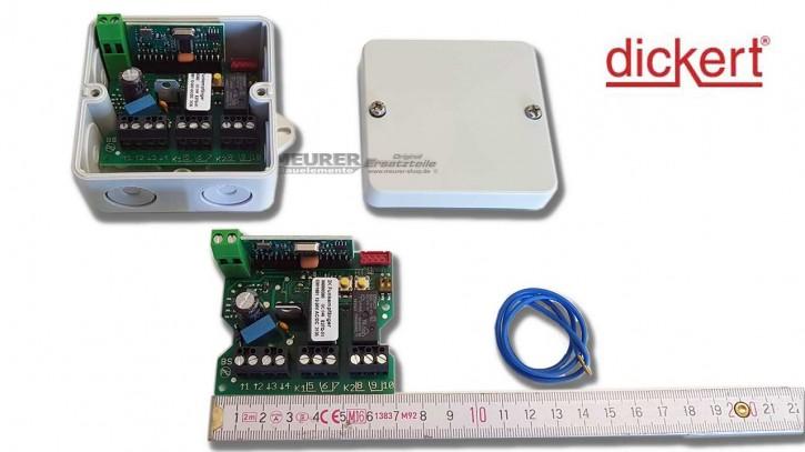 Universal Mini-Empfänger Dickert E27Q 2-Kanal 230V / 12-24V