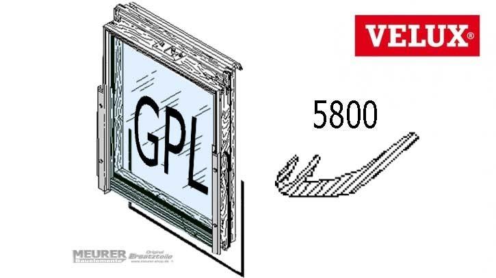 Velux Gleitdichtung Unten 5800 GPL Holzdachfenster