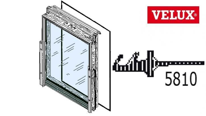 Velux Gleitdichtung umlaufend für Fensterflügel