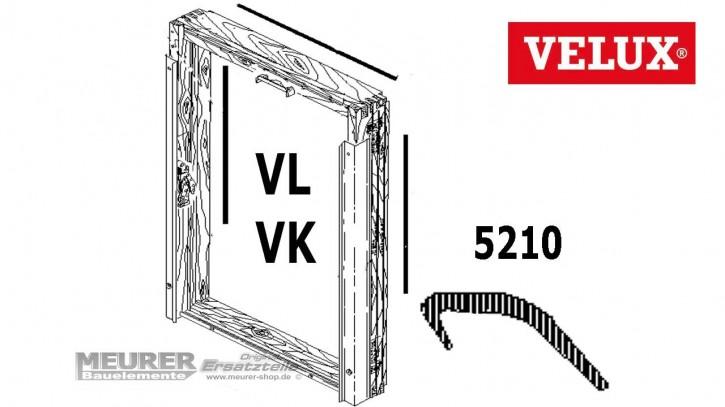Velux Anschlagdichtung Rahmen 5210 VL/VK Holz Dachfenster