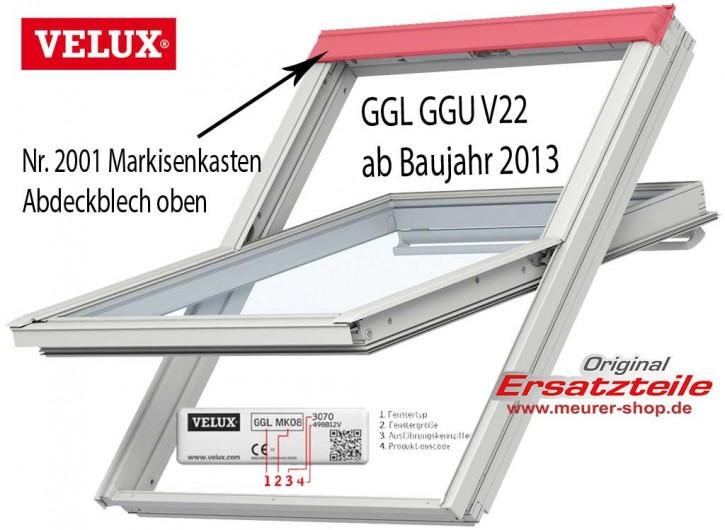 Markisenkasten, Abdeckblech Velux GGL / GGU ab Mai 2013 V22
