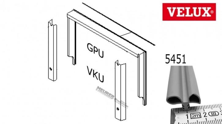 Velux Schlauchdichtung oben 5451 GPU/VKU/GHU Kunststoff Dachfenster
