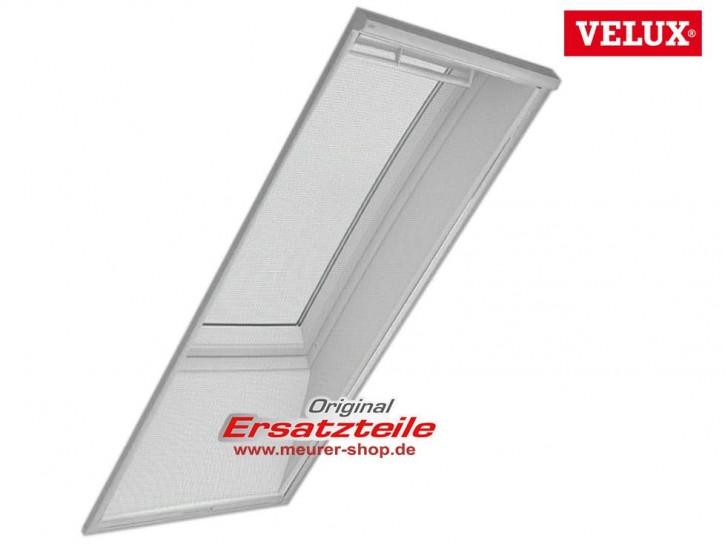 Original Velux Insekten Rollo für Dachfenster, strapazierfähiges transparentes Glasfasergewebe, weiße Schienen aus Aluminium