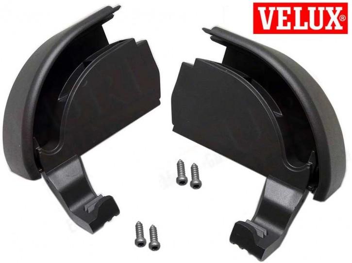 Velux Rollladen Endkappe Rechts / Links für Führungsschiene unten
