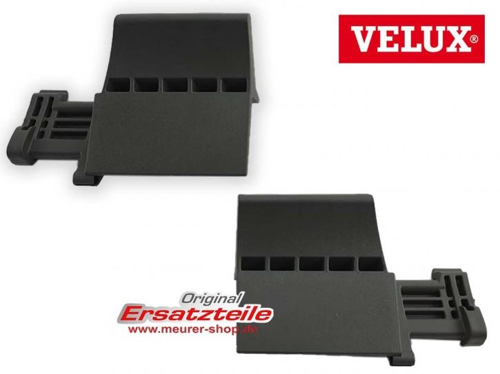 Stopper, Endstück Links + Rechts für Velux Rollladen Endschiene unten V22