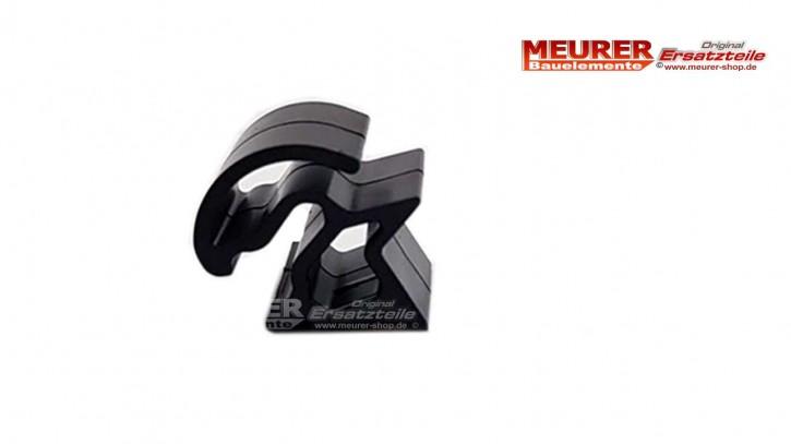 Seitliche Kunststoff Halterung für Velux Rollladendeckel