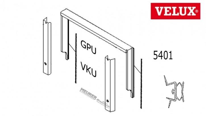 Velux Schlauchdichtung seitlich 5401 GPU/VKU/GHU Kunststoff Dachfenster