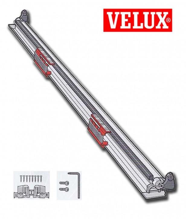 Velux Rollo Ersatzschnur in Unterschiene komplett