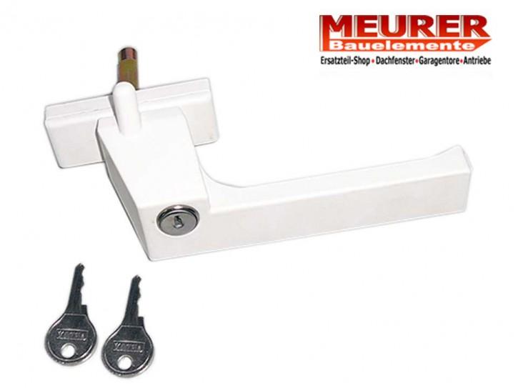 fenster griff wei gpu sicherheitsverschluss absperrbar 026mbg785. Black Bedroom Furniture Sets. Home Design Ideas