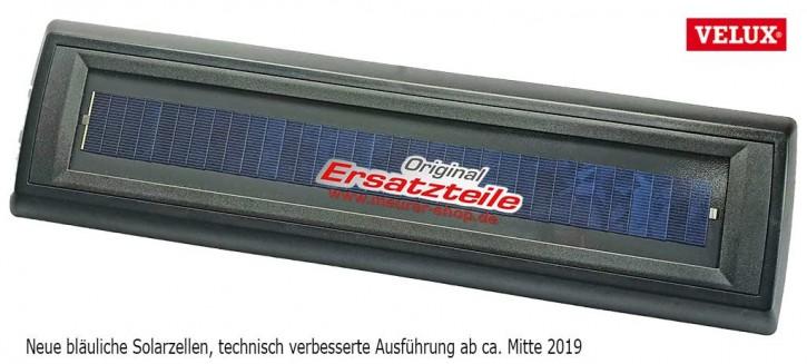 Velux Solarmodul NEU 2019 für Velux SSL Solar Rollladen bis Bj. 2012