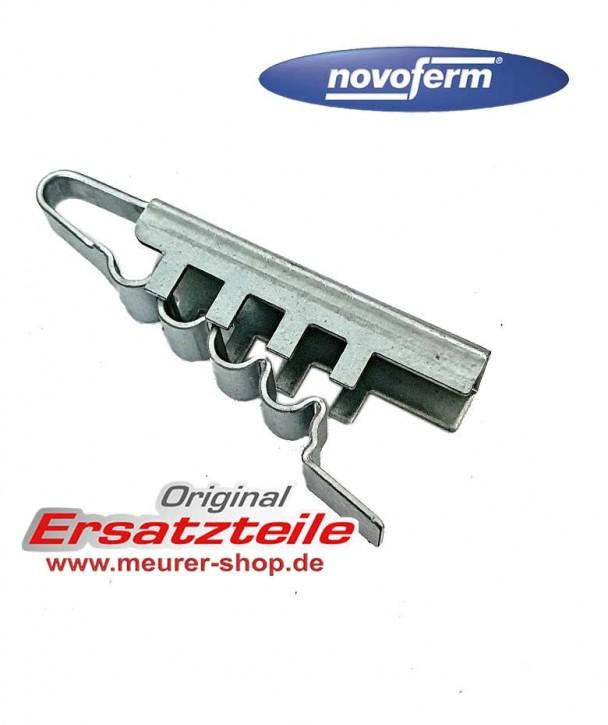 Zahnriemenschloß Novoport Metallklemme Anschluss Stück