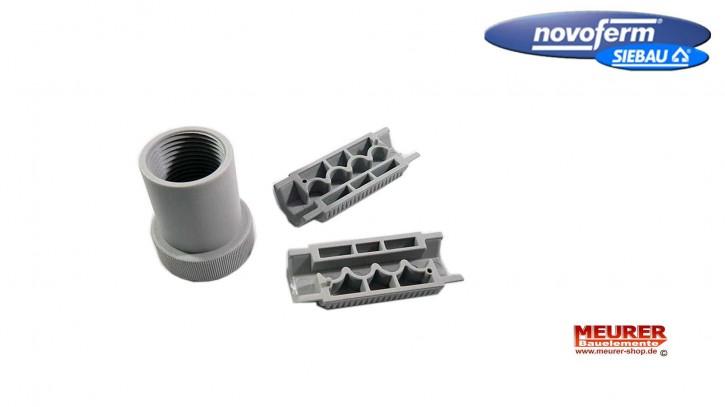 Zahnriemenbefestigung hinten / NovoPort